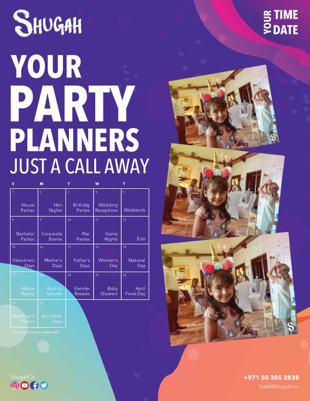 Plan your party